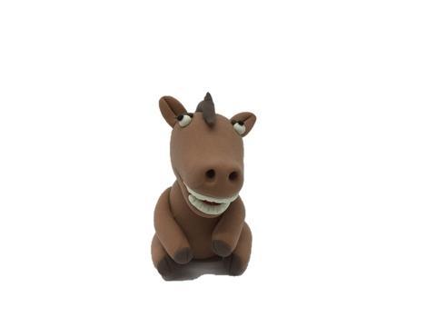 Horse Air Sec Argile Léger