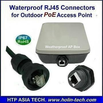 Outdoor Waterproof Box And Enclosure Built In Rj45 Usb