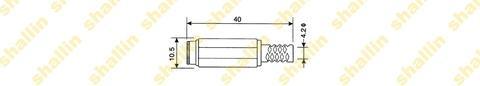 2.0mm DC power jack, RoHS Directive-compliant