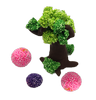 Magic Pearl Foam Clay With Fluffy Beads Tree
