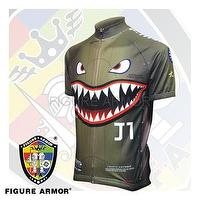 "FIGURE ARMOR Flying Tigers""Grandfather's Command""P-40 Edition Cycling Jerseys FA-SQ1002 by ART CYCLONE"