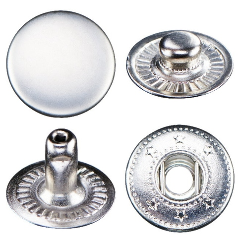 B501 Metal Snap Button - Spring