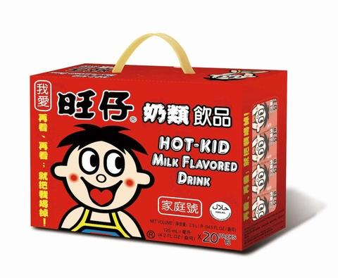 HOT-KID Milk Flavored Drink (OEM) - 125ml*20
