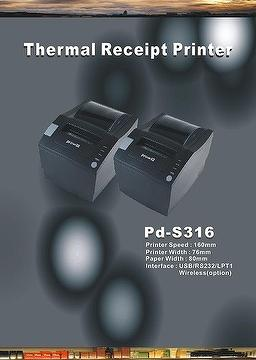"Pd-S316 3"" pos thermal printer"