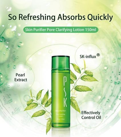 Taiwan PSK Top Ten Skin Purifier Pore Clarifying Lotion