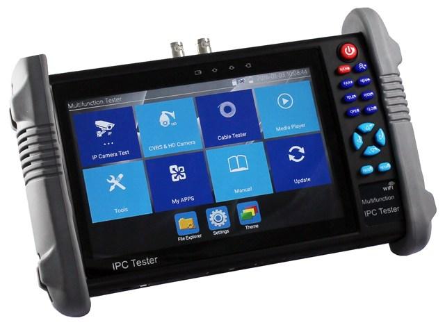 "Taiwan 7"" Multifunction CCTV Tester Monitor for IP AHD TVI"