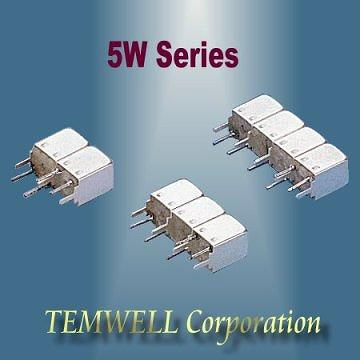 5W Helical Bandpass Filter