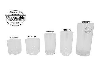 Special Design Benz-Bottom Tumblers