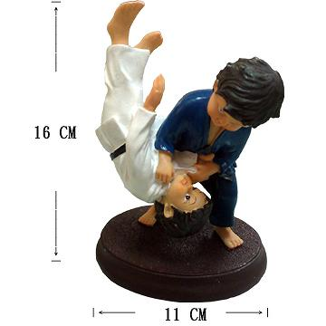 Taiwan Judo Figurine Indicia Enterprise Co Ltd