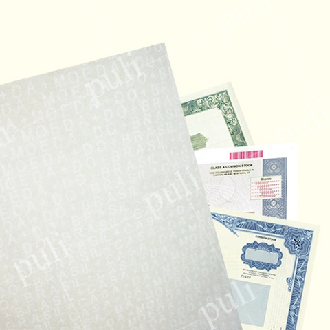 Watermark Paper - Custom Paper for Documents and Packaging