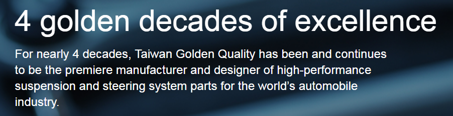 TAIWAN GOLDEN QUALITY MOTOR TECHNOLOGY CO., LTD.