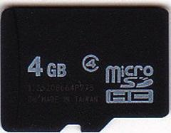 SanDisk MicroSD (TF) 16GB Class 4 Flash Memory Card