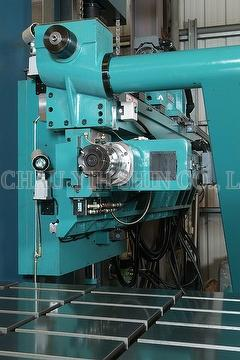 Drilling spindle with milling & tapping head