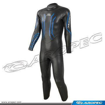 Triathlon Wetsuit, Fullsuit, 5/3mm Super Stretch Skin Triath