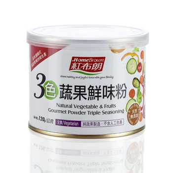 Natural Vegetable & Fruits Gourmet Powder Triple Seasoning