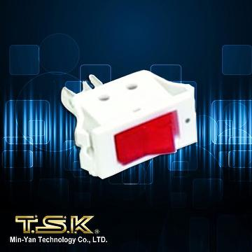TSK Taiwan Pinball Game Machine KIT: SB-10 AC Power Switch