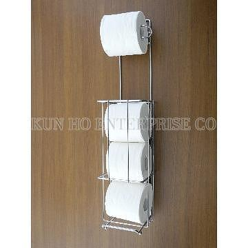 Taiwan Toilet Roll Holder Toilet Roll Storage With Wall Mounted
