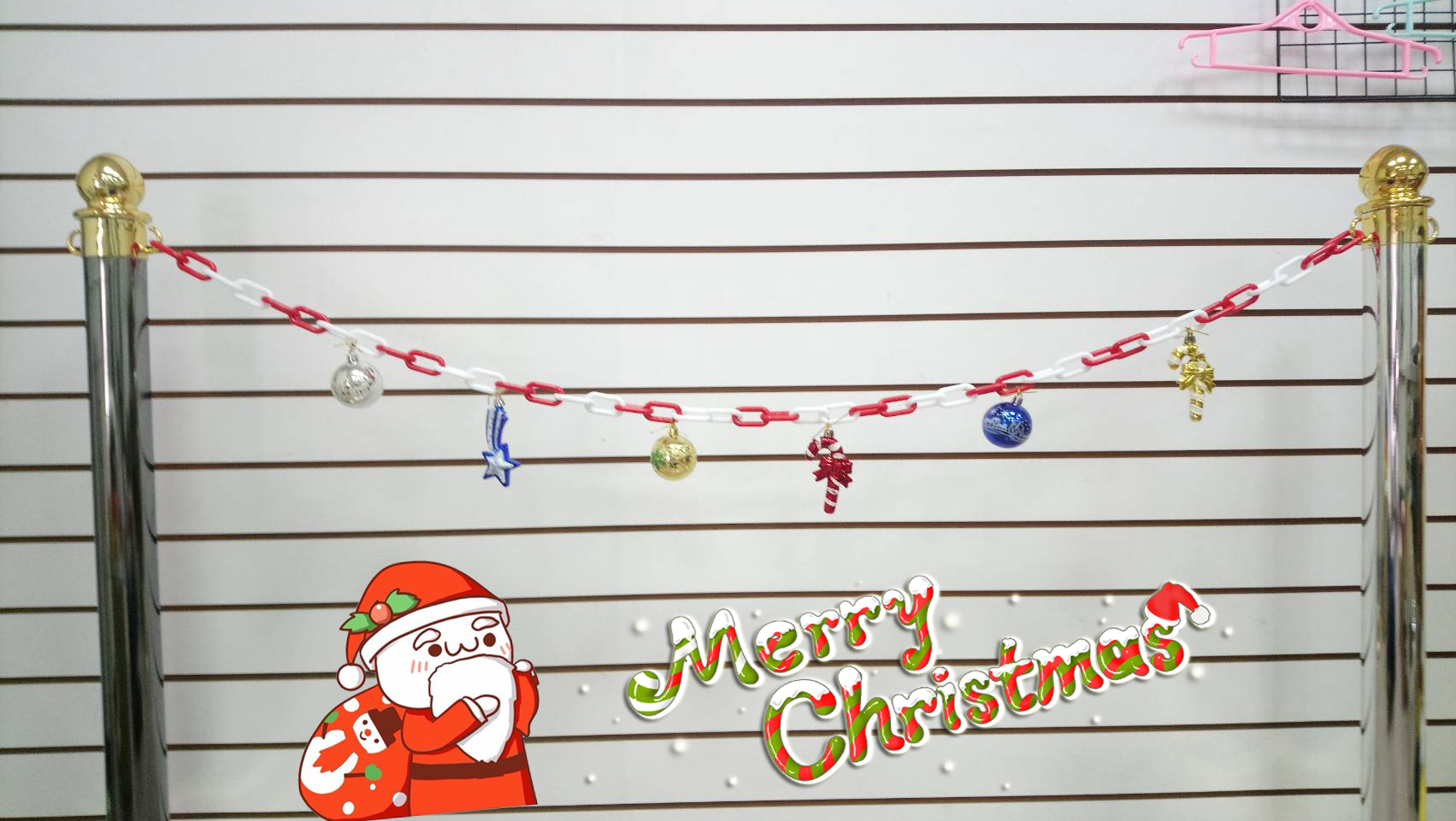 christmas ornaments chain
