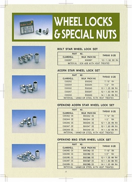 Lug Nuts & Bolts