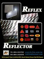 Safety Reflector for Car, Motorcycle, Truck, Bike, Mechine, Pedestrian