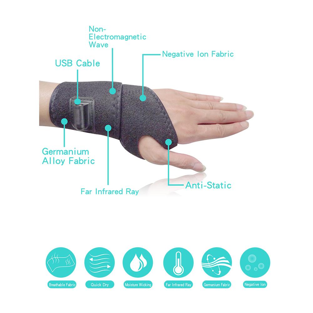 Taiwan Heat Therapy Wrist Wrap Electric Heating Pad