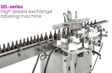 High-speed Promo Sticker Labeling Machine