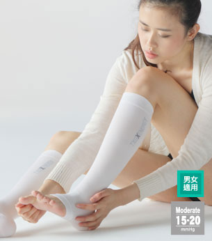 TXG Open Toe Compression Stockings