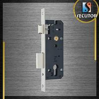 Mortise lock, door lock, lock body