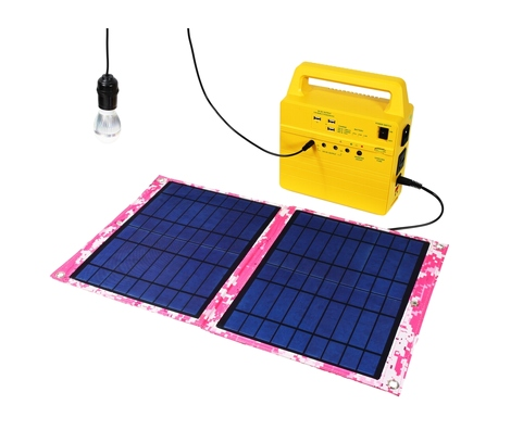 All-in-One Portable Solar Generator / Handy Solar System, solar system, solar generator, portable solar power system, solar power for homes