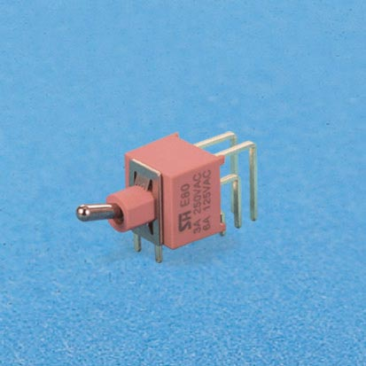 Sealed miniature toggle switch