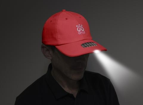 illumi-Cap® Solar-Powered Rescue Equipment - Trump Red
