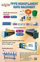 PP/PE Monofilament Rope Production Line