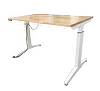 sit to stand desk-table leg type-Simple type