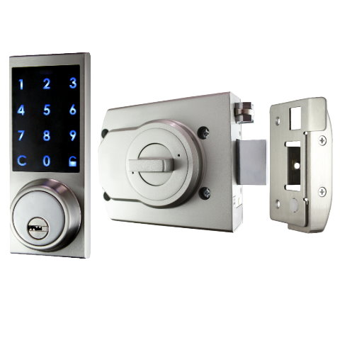 Bluetooth Smart Rim Lock w/ Touch Panel Exterior Part