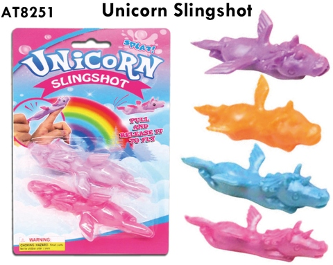 Slingshot Shooting Unicorn