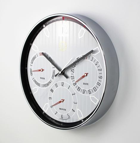 Multifunctional Automatic complete calendar clock