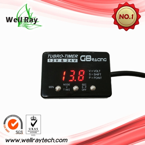 Taiwan 12-24V turbo timer for universal car, truck, 4WD | Taiwantrade