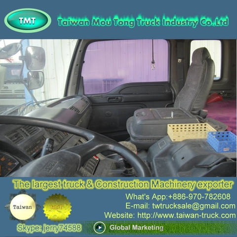Taiwan Used ISUZU 6 Wheeler Tractor Truck For Sale [ Trucks Spare Parts,  Trailer, Prime Mover, Truck Head, Dealer, Shipper, Supplier, Taiwan,  Exporter, ...