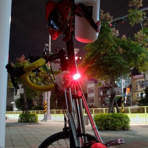 Tail light on SeatPost Clamp