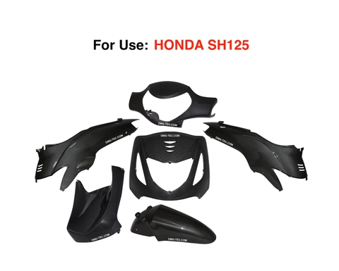 Plastic Fairing Kit For Use HONDA SH125 - DMG