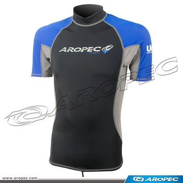 Lycra Short Sleeve Rash Guard for Man, Rash Guard