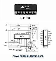 Audio Controller IC HK725