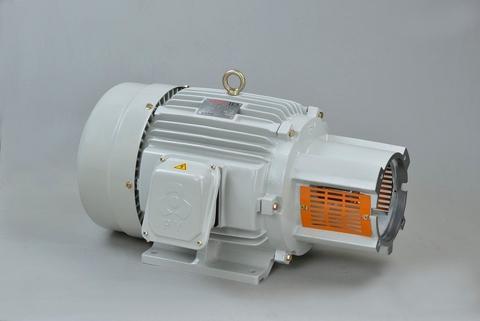 Horizontal middle-bracketed motor