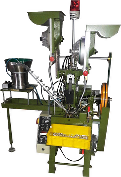 Automatic Assembling Machine Three pieces assembling with one vibrating feeder