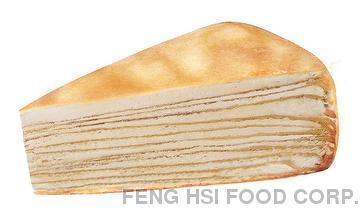 Mille Cake: Sunrise Orange Cake