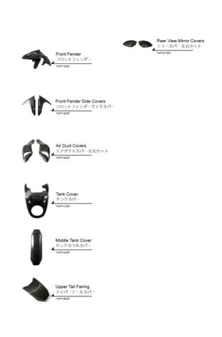 Product list of Yamaha MT-07