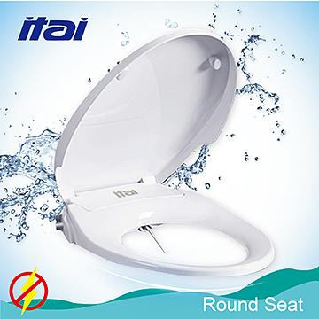 Washlet Non Electric Bidet Toilet Seats With Cover Dual Nozzles White Pp Round Seat Taiwantrade Com