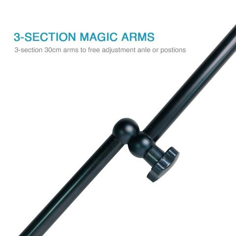 3-section magic arms clip AS-52