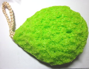 Green Tea Bath Sponge