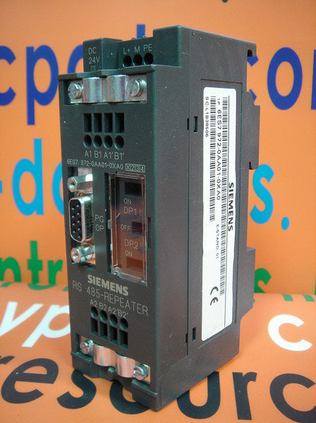 Siemens RS 485-Repeater 6ES7 972-0AA01-0XA0 Top Zustand